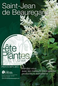 Fête des Plantes château de Saint-Jean-de-Beauregard 2015